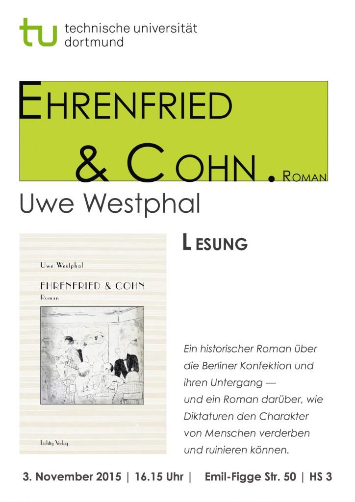 Lesung U. Westphal Dortmund Nov. 2015