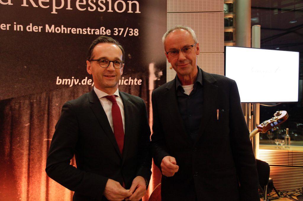 Uwe Westphal mit Heiko Maas